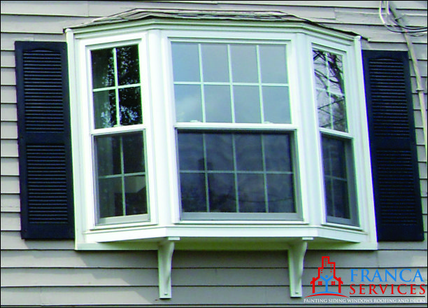 bay or bow window replacement new construction in ma bow amp bay windows custom window styles available