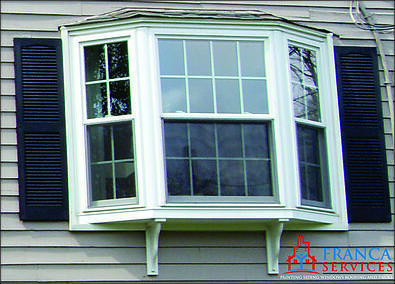 Difference Between Bay And Bow Windows : Bay or bow window replacement new construction in ma