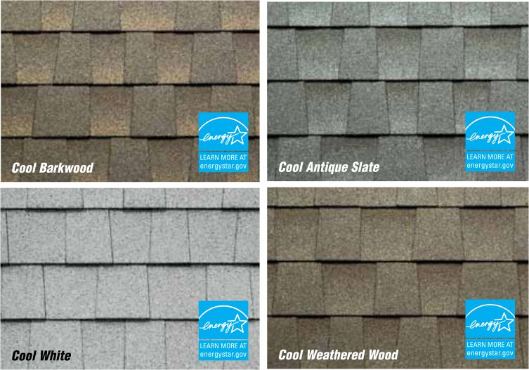 Reflective metal roof shingles viral infections blog for Energy efficient roofing material