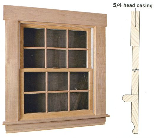 Exterior Window Trim Styles : Replacement windows interior trim window