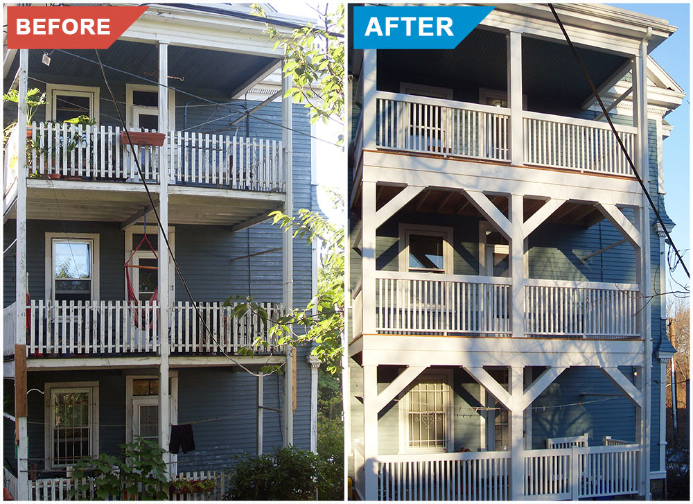 Before-and-After-Triple-Decker-Deck-Replacement-Contractors-Boston-MA