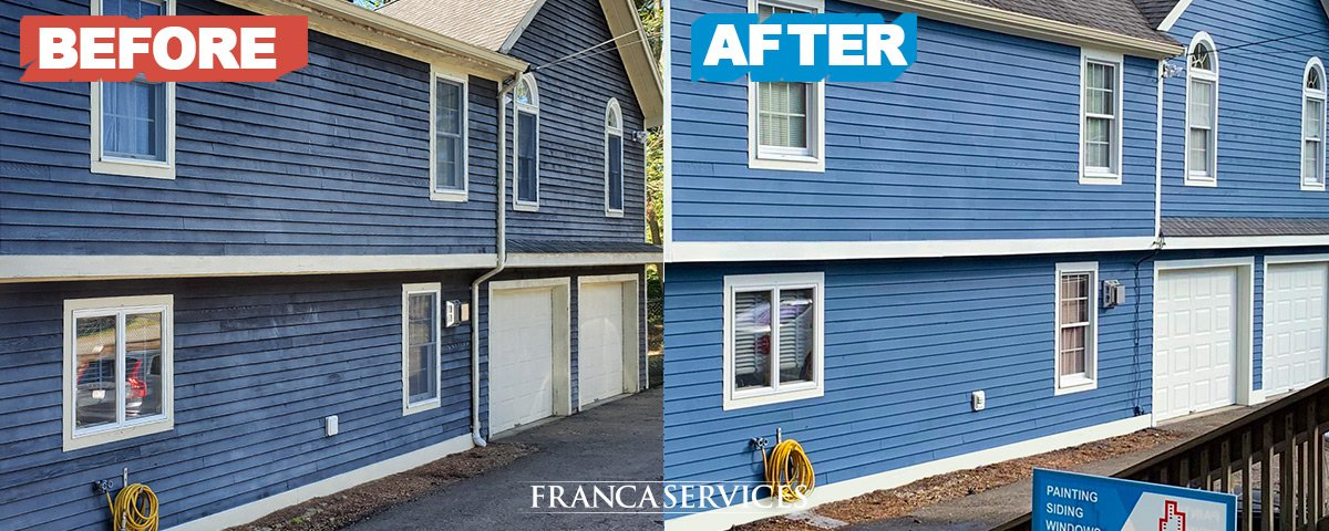 Blue-House-Repainting-Professional-Local-Painters