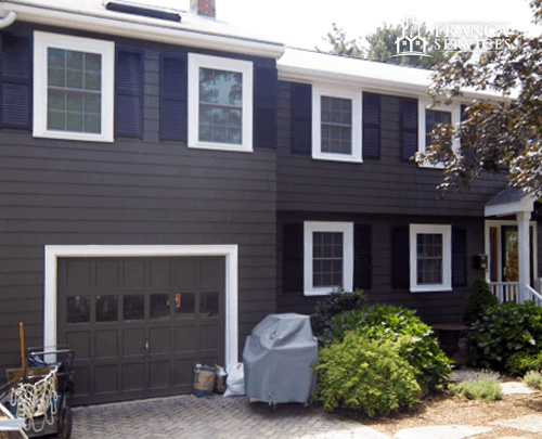 Brown-Exterior-House-White-Trim-HousePainting-by-Franca-Services