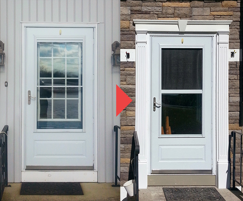 Door Installation Services. Before & After. Andersen Windows, Pella Windows, Harvey Windows, Ply Gem Windows, Milgard Windows.