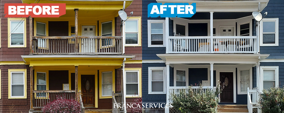 Repainted-House-Brown-to-Blue-House-Painting